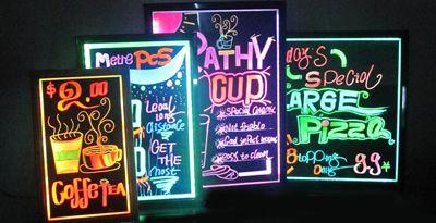 LED Reclameborden & LED Lichtkranten - ledverlichting & ledlampen online kopen