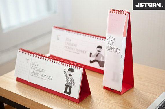 2014 Calendar Desk Planner