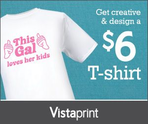 Customized T-Shirts Only $6 Shipped (See Our Examples and Make One For Business, a Gift, Team, Event and More)