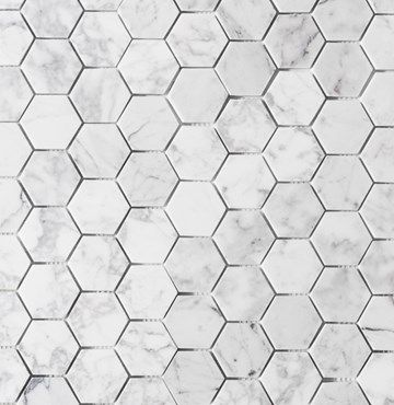Carrara Hexagon 5X5
