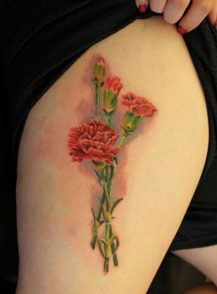 17 best ideas about red carnation on pinterest casino for Red carnation tattoo