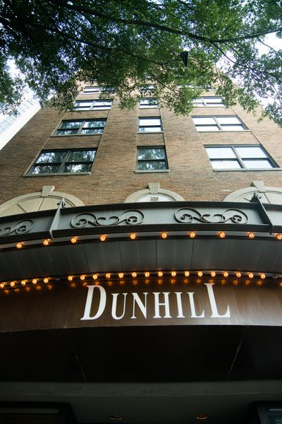 In downtown Charlotte, NC the Dunhill is one of the few historic hotels in town.