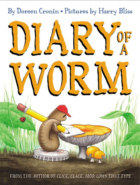 #62 - Diary of a Worm by Doreen Cronin