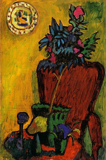 Munter Still LIfe with chair