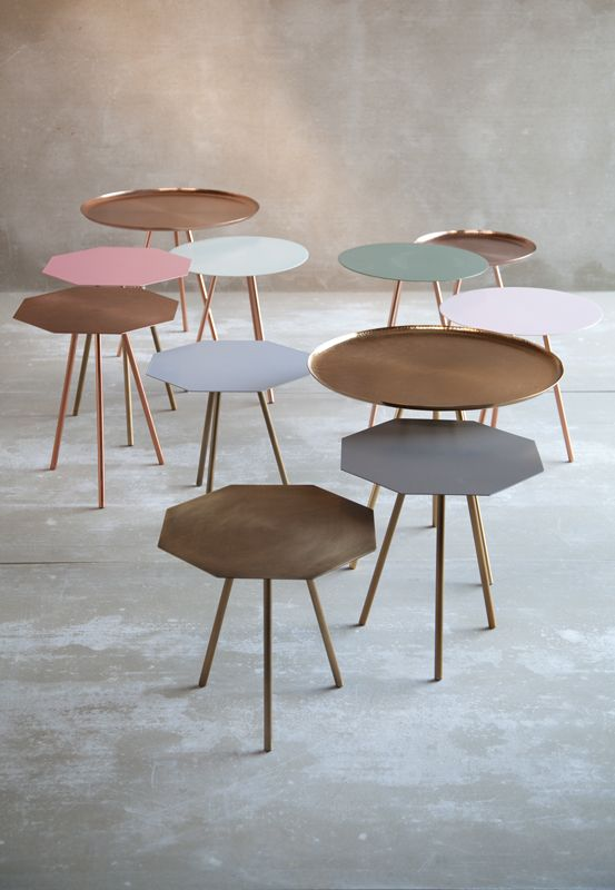 Nesting tables - Diamond Various colors - Danish Design AU Maison