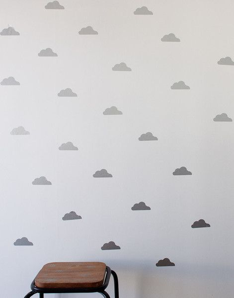 Pink and Gold, Cloud wall decor