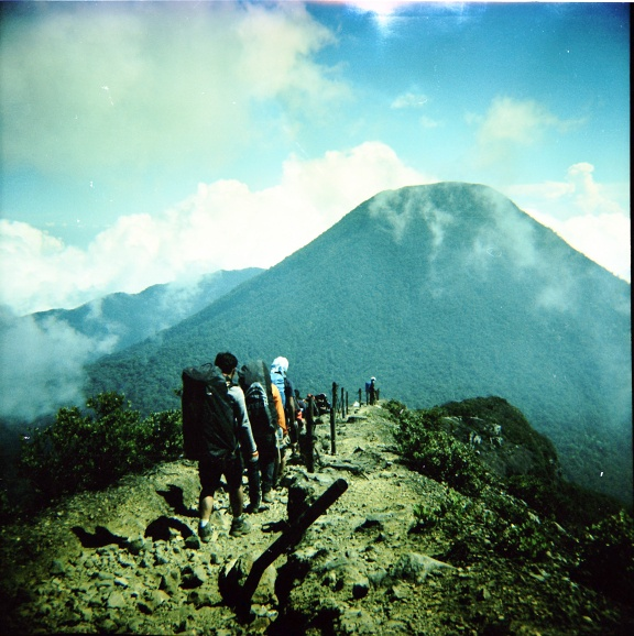 Analogue Travel and Adventure: The Beauty of Mount Gede - Lomography