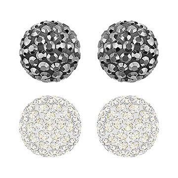Blow Pierced Earrings Set