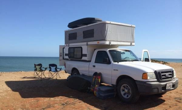 Small Lightweight Truck Campers The Ranger Pickup Came