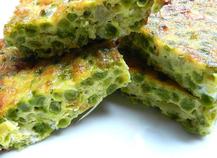 frittata di piselli #ricettedisardegna #cucinasarda #sardinia #recipe