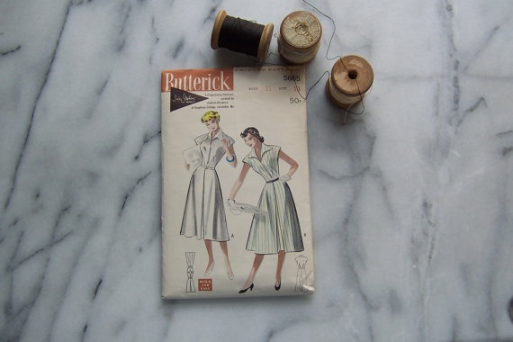 50s Butterick Susie Stephens Dress Pattern by joyofvintagewithsam, $12.00: Dress Patterns, Stephen Dresses, Susi Stephen, Susie Stephens, Stephens Patterns, Dresses Patterns