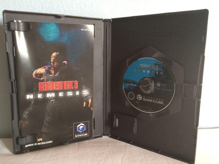 Resident Evil 3 Nemesis game opened.