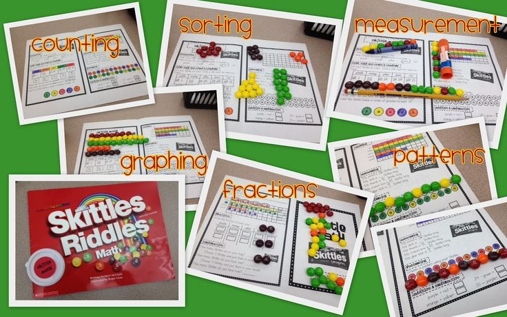 Skittle Math & Mike and Ike Math ~ fast math games