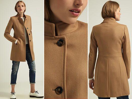 Manteau Femme Zalando, craquez sur le Manteau classique Benetton beige prix promo Zalando 90.00 € TTC