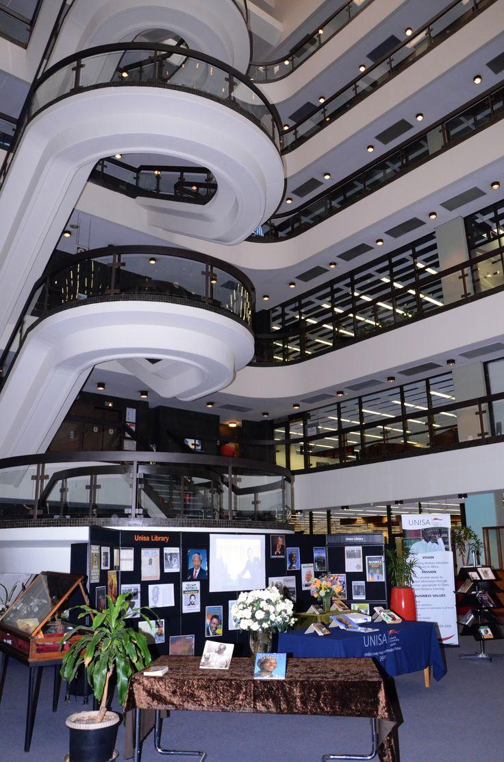 The Nelson Mandela exhibition @ Unisa Library.