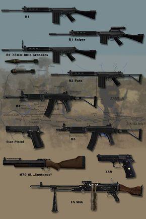 Border War Weapons