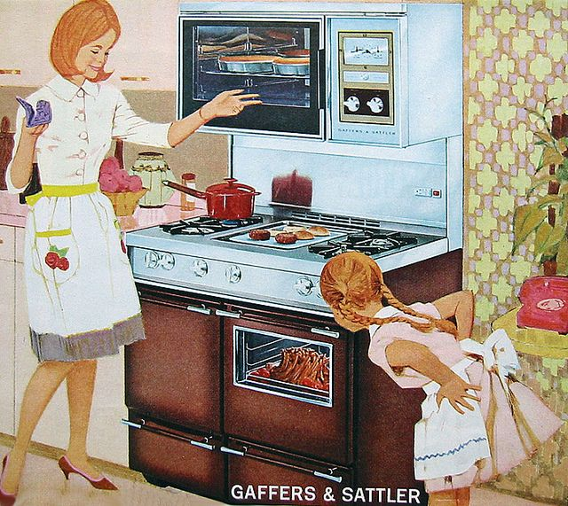1964 kitchen range by jarmie52, via Flickr