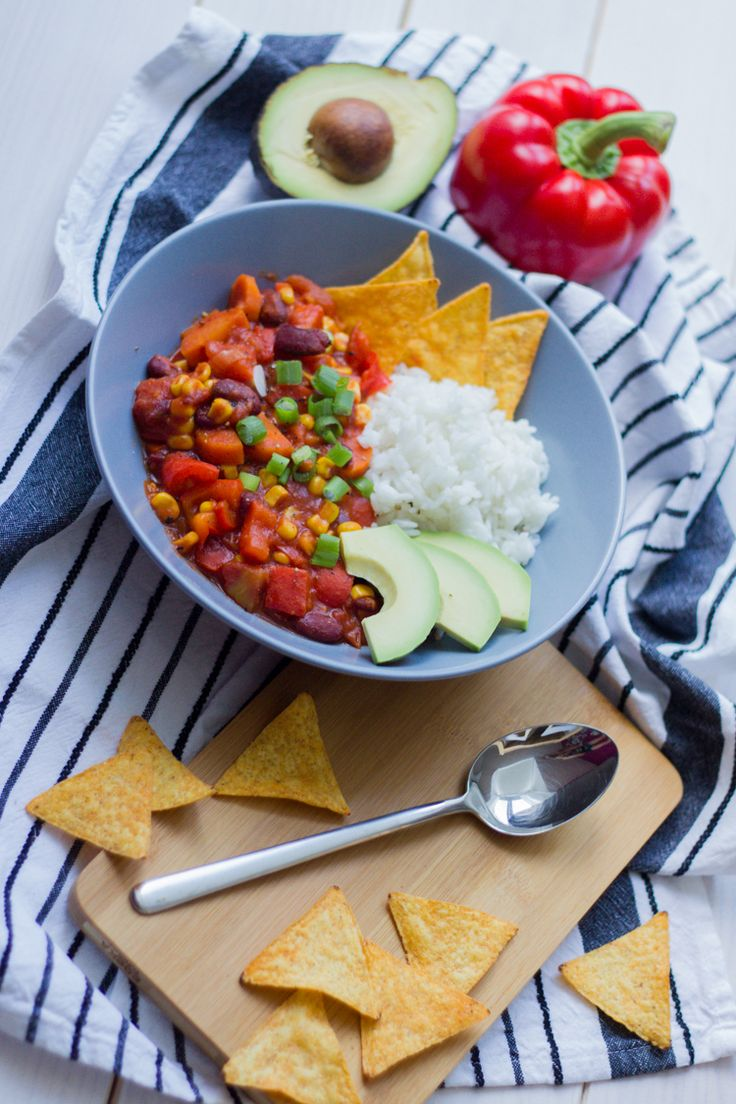 Veganes Chili