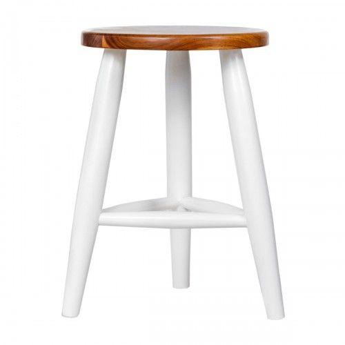 Tatawiran   bangku kayu jati dekorasi interior skandinavia rumah cafe stool interior design furniture