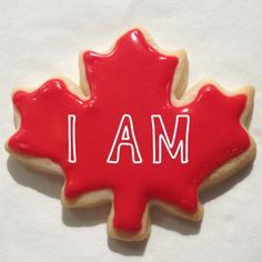 """Biscuits fête du Canada /  Canada Day cookies <a class=""""pintag searchlink"""" data-query=""""%23CanadaDay"""" data-type=""""hashtag"""" href=""""/search/?q=%23CanadaDay&rs=hashtag"""" rel=""""nofollow"""" title=""""#CanadaDay search Pinterest"""">#CanadaDay</a>"""