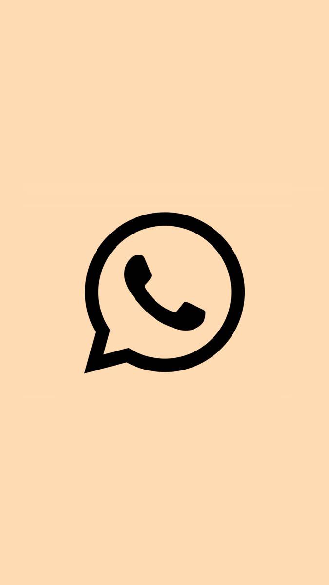 Application Whatsapp Aesthetic Logo Aplikasi Ikon Aplikasi Gambar Gelap