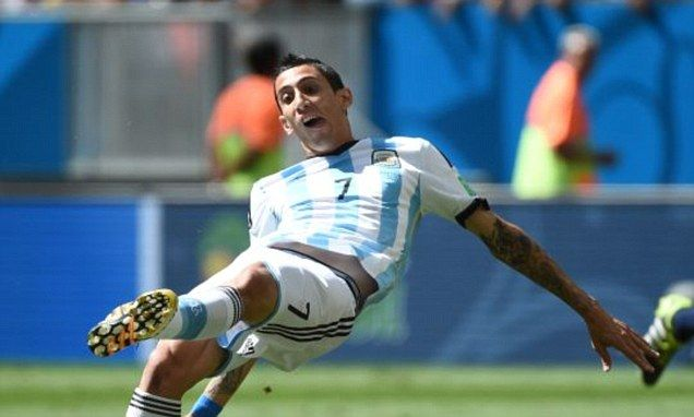 Angel Di Maria's World Cup looks to be over with thigh injury