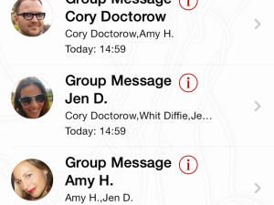 Wickr makes self-destructing SMS more fun