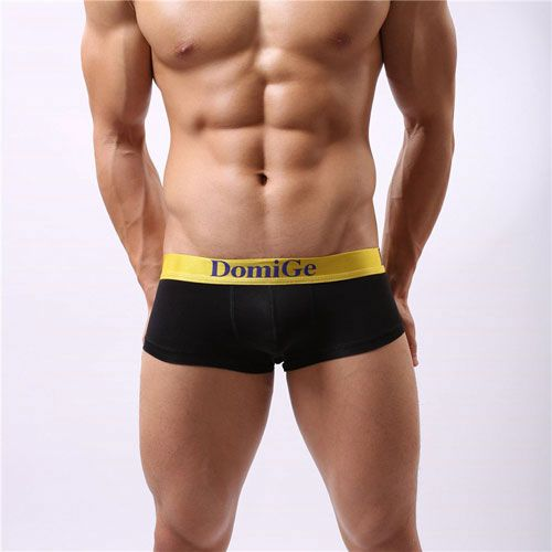 b97872972f DomiGe Cotton Stretch Men's Low Rise Trunk with Wide Waistband OPB5067  Black | DomiGe Underwear | Trunks underwear, Slim man, Trunks