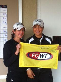 FCWT junior golf at Duke girls top finishers
