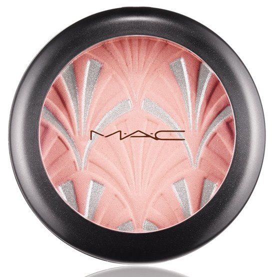 MAC Philip Treacy Collection Spring 2015 Highlighting Powder in Blush Pink – light pink with silver