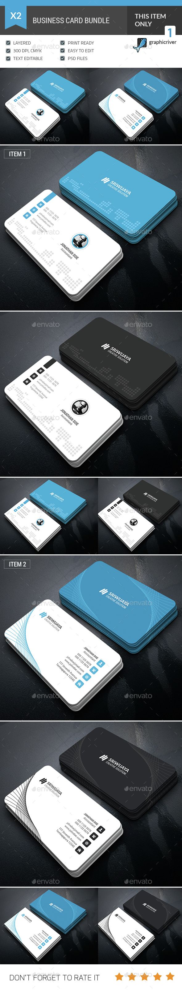28 best business cards images on pinterest business cards carte business card bundle photoshop psd professional business card available here https flashek Image collections