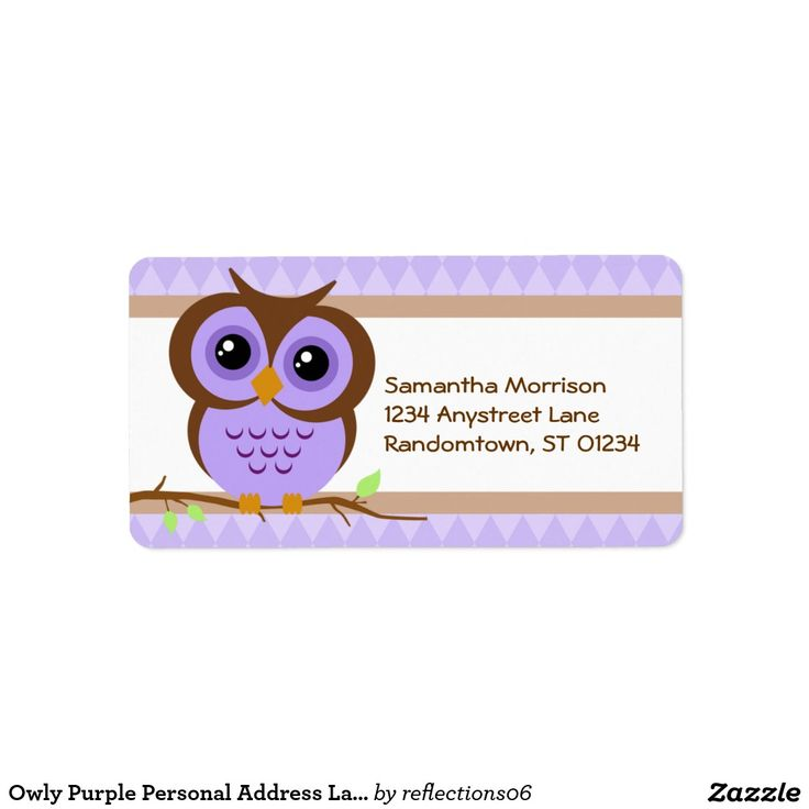 123 best Address Labels images on Pinterest Return address - address label
