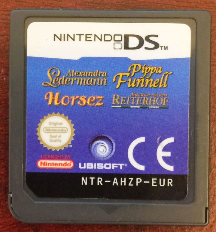 Nintendo DS Pippa Funnell Horsez Game