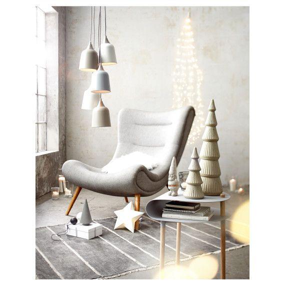 AFFILIATELINK Deko-Objekt Vorderansicht, skandinavisch, Design - moderne wandgestaltung wohnzimmer lila
