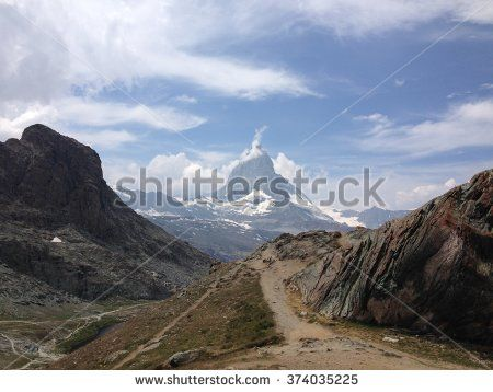 Mountain Matterhorn, Zermatt, Switzerland