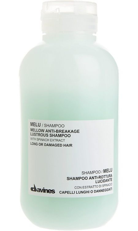 Davines   Melu Shampoo; great for long, damaged, or tangle prone hair.  I love this stuff!