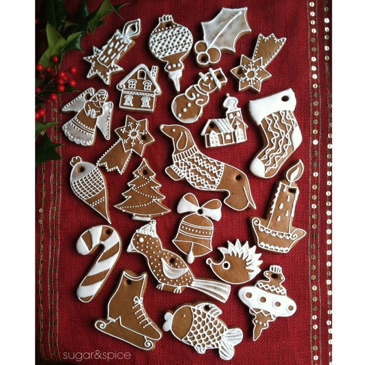 Gingerbread Ornaments…