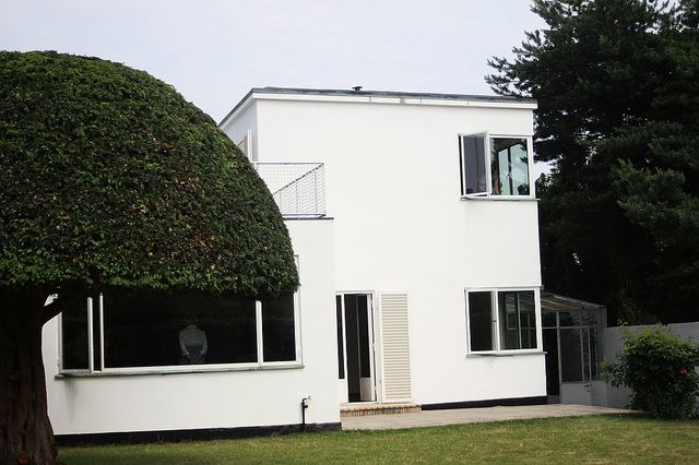 Arne Jacobsen's house, Charlottenlund
