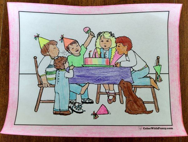 9 best ⭐Birthday Coloring Pages⭐ images on Pinterest