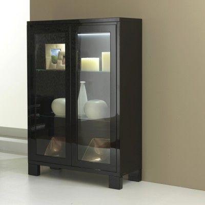 Sleek, modern look by the italian brand, Casabella Prima Two Door Display Cabinet #4livinguk