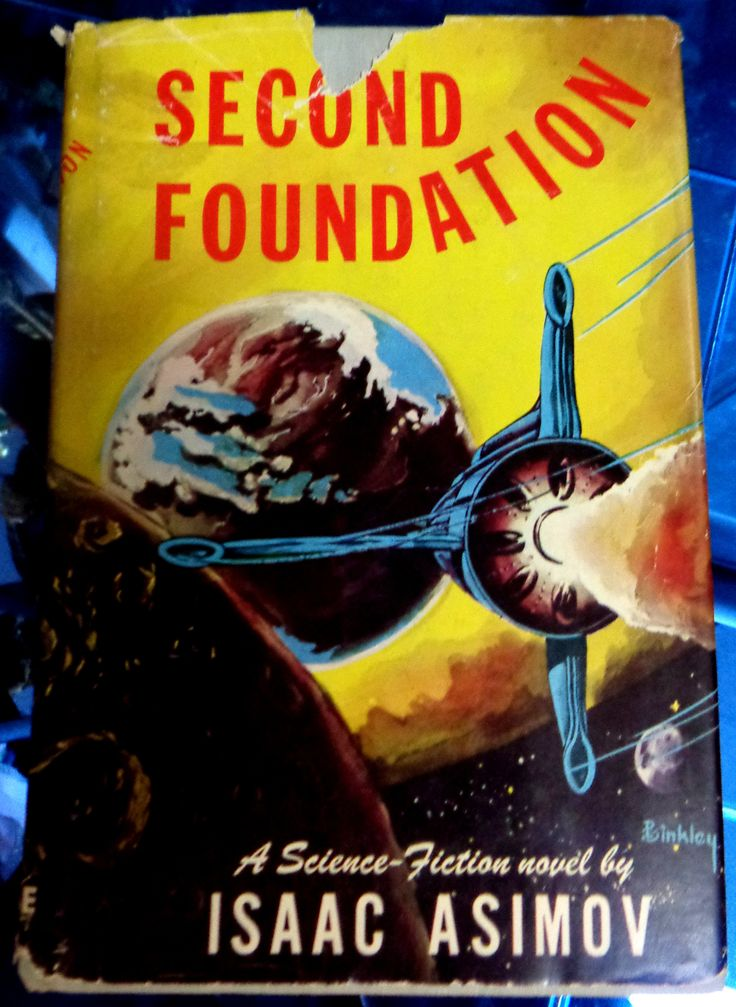 "Second Foundation By Isaac Asimov Publisher: Gnome Press, 1953 Science Fiction Hugo Award Winner 8"" - 9"" tall; 210 pages First Printing, First Edition Hardcover BEAUTIFUL, Nice hardcover book: Clean,"