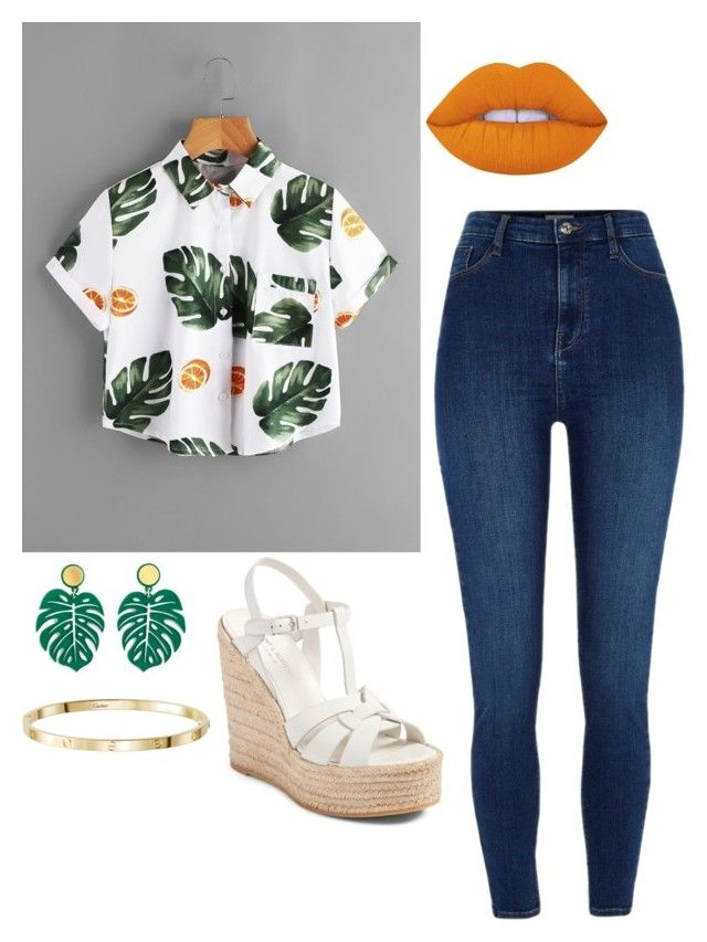 """""""Untitled #39"""" by lulu14041722 on Polyvore featuring River Island and Yves Saint Laurent"""