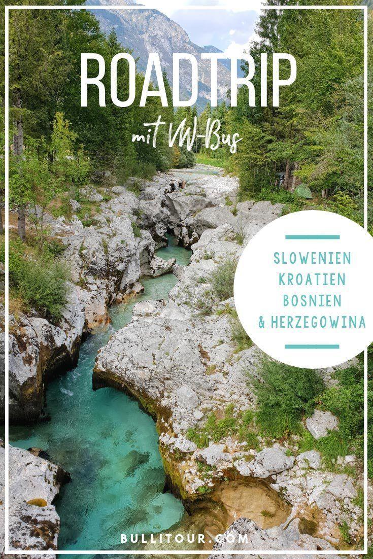 Nossa viagem de verão – De ônibus da VW pela Eslovênia, Croácia e Bósnia e Herzegovina   – Roadtrips
