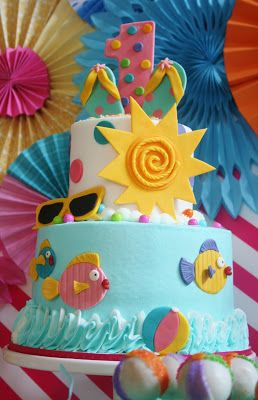 And Everything Sweet: Summer Themed First Birthday
