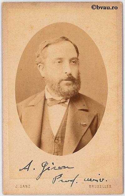 "A. Giron, Bruxelles. Imagine din colecțiile Bibliotecii ""V.A. Urechia"" Galați."