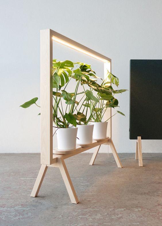 GreenFrame plant furniture/dividing screen designed by Johan Kauppi