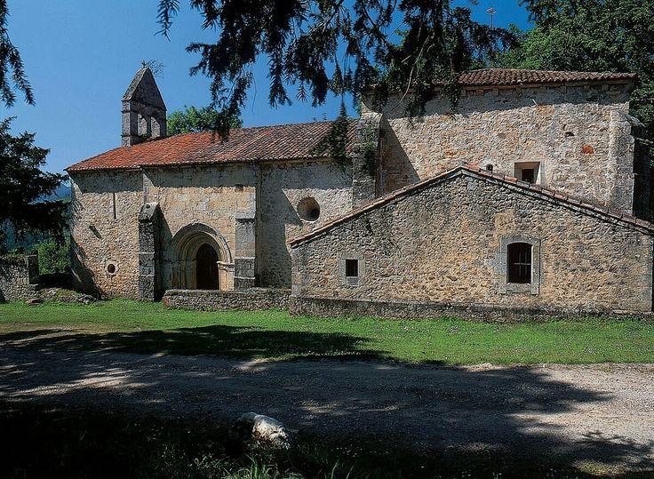 Iglesia de Santa Eulalia de Abamia