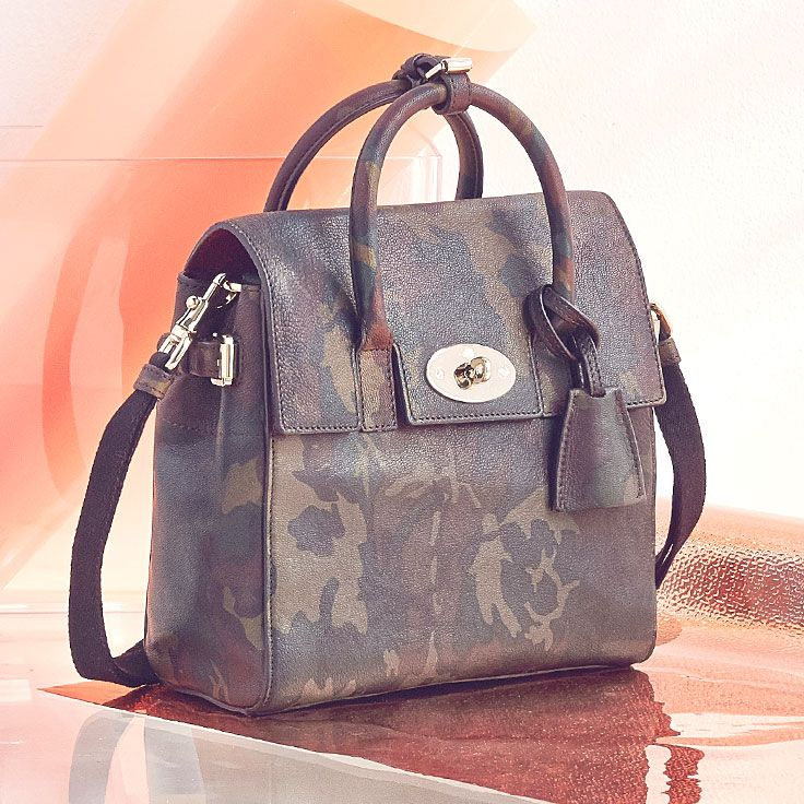 Mulberry Mini Cara Delvigne Leather Backpack – so chic.