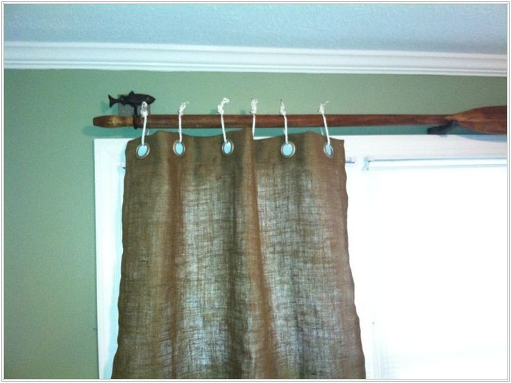 17 Best Ideas About Rustic Curtain Rods On Pinterest Diy