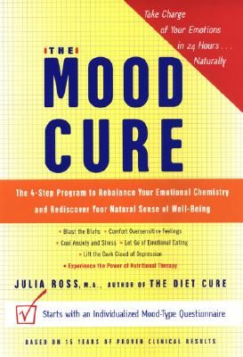 The Mood Cure, ease depression, anxiety, addictions, low mood, hyperactivity and much more... This book is a amazing and makes perfect sense... www.happybabiesmaternity.co.uk